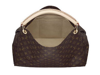 Louis Vuitton Handbag Monogram Canvas Artsy MM M40249