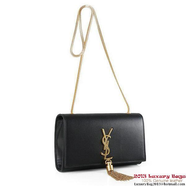 Yves Saint Laurent Small Monogramme Cross-body Shoulder Bag 5475 Black