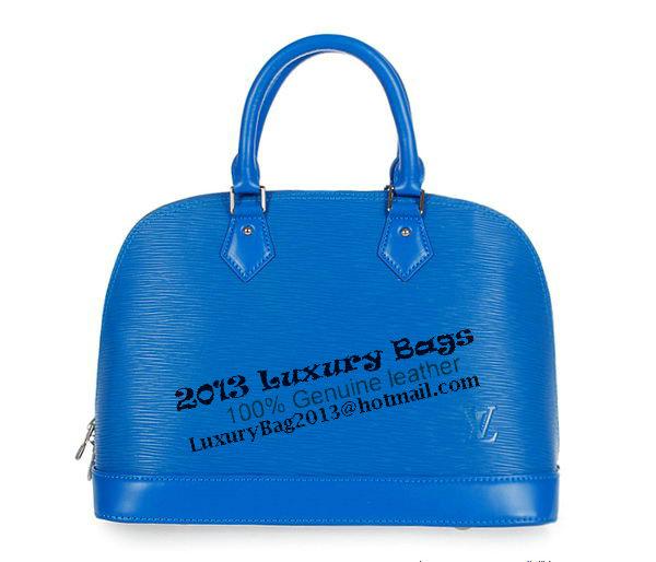 Louis Vuitton EPI Leather Alma M40302 Blue