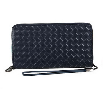 Bottega Veneta Intrecciato Nappa Continental Wallet BV8002 RoyalBlue