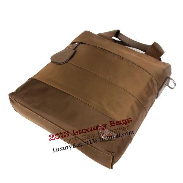 PRADA Tessuto Canvas Tote Bag R50783 Khaki