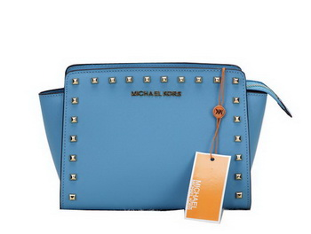Michael Kors MK1869 RoyalBlue Mini Selma Messenger Bag