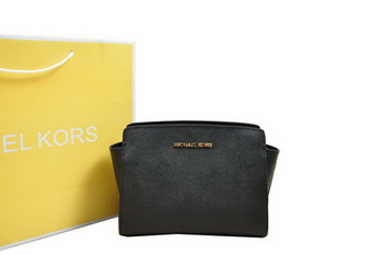 Michael Kors Mini Selma Messenger Bag Black