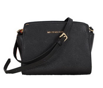 Michael Kors Mini Selma Messenger Bag MK8701 Black