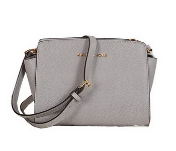 Michael Kors Mini Selma Messenger Bag MK8701 Grey