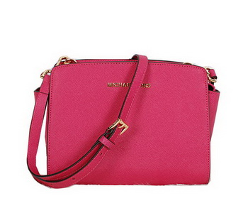 Michael Kors Mini Selma Messenger Bag MK8701 Rose