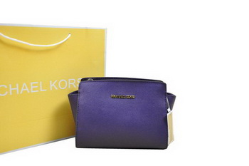 Michael Kors Mini Selma Messenger Bag Purple