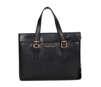 Michael Kors Smooth Calf Leather Briefcase 99061 Black
