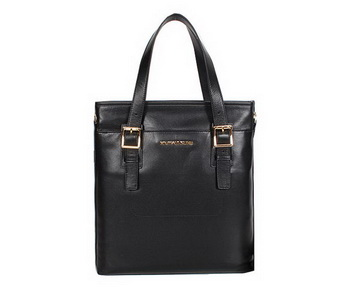 Michael Kors Smooth Calf Leather Tote Bag 99062 Black
