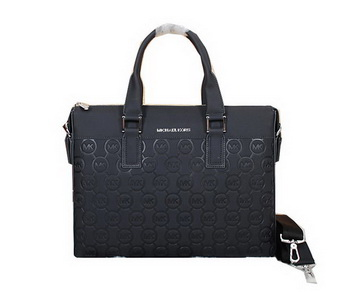 Michael Kors Calf Leather Briefcase 99051 Black