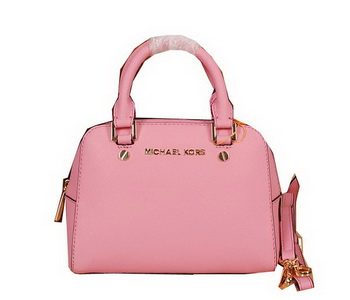 Michael Kors Original Saffiano Leather Top Handle Bag MK2603 Pink