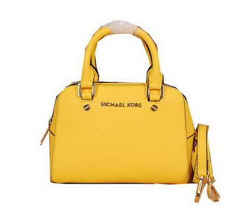 Michael Kors Original Saffiano Leather Top Handle Bag MK2603 Yellow