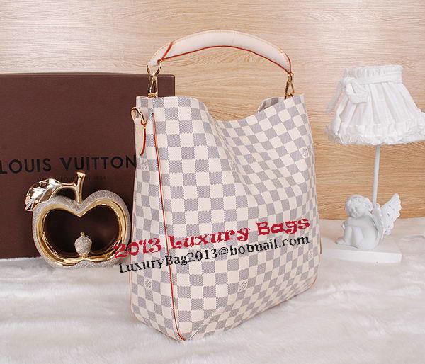 Louis Vuitton Damier Azur Canvas Soffi Tote Bag N41216
