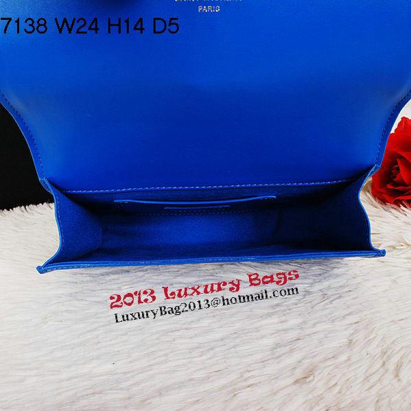 Yves Saint Laurent Classic Monogramme Tassel Clutch Bag Y7138 Royal