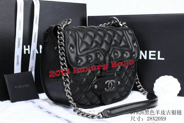 Chanel Cuise 2015 Sheepskin Leather A97926 Black