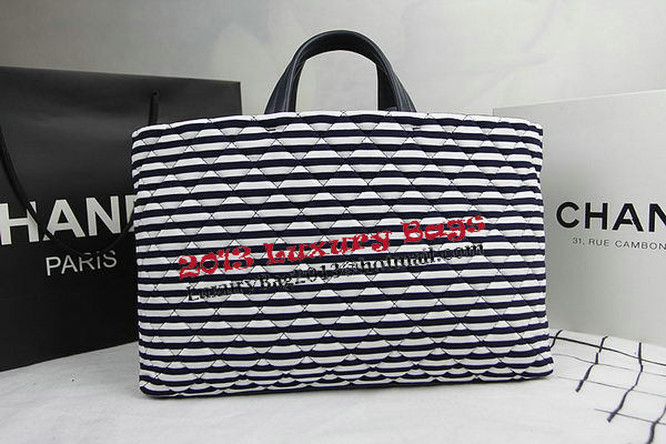 Chanel Cuise 2015 Tote Bag Fabric A94302 Royal