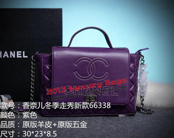 Chanel Cuise 2015 Tote Bag Original Leather A66338 Purple