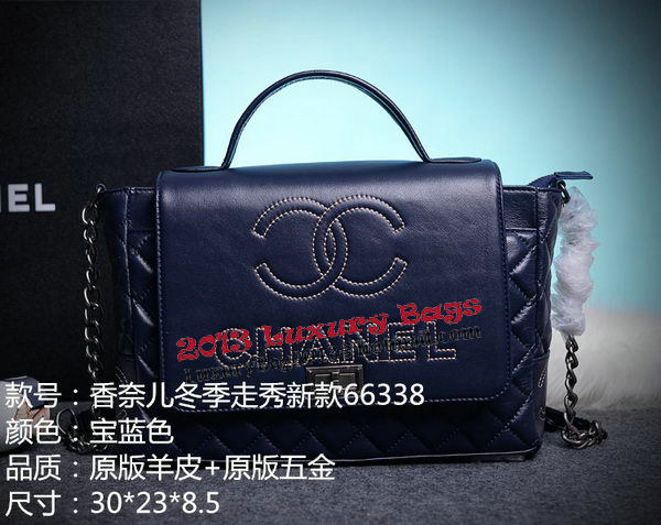 Chanel Cuise 2015 Tote Bag Original Leather A66338 Royal