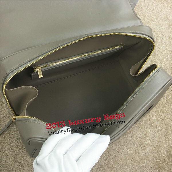 Celine Top Handle Bag Original Leather C20135L Grey