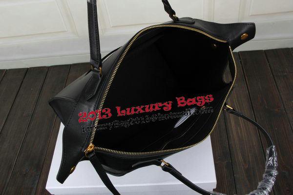 Celine Ring Bag Smooth Calfskin Leather 176203 Black
