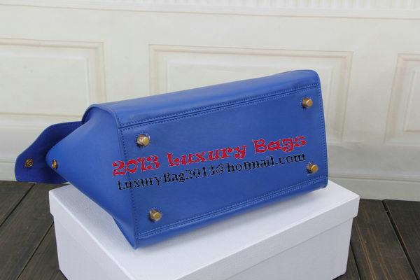Celine Ring Bag Smooth Calfskin Leather 176203 Blue
