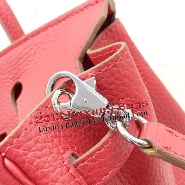 Hermes Birkin 25CM Tote Bag Original Leather H25T Red