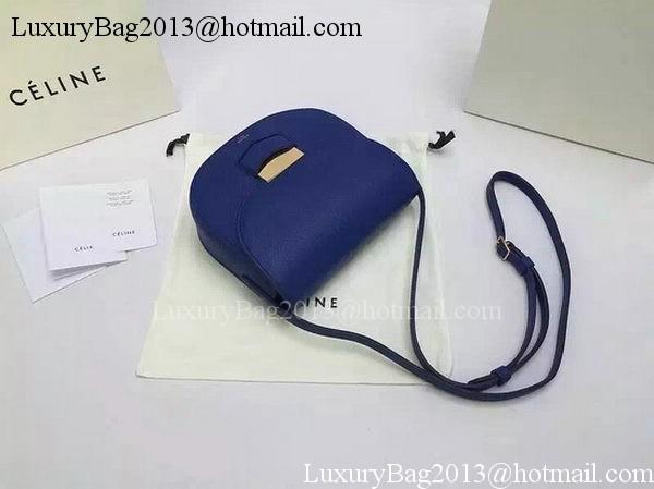 Celine Trotteur Bag Calfskin Leather CTA4298 Blue