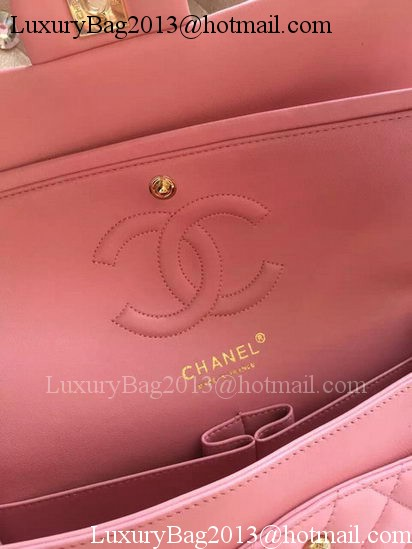 Chanel 2.55 Series Flap Bag Pink Original Leather A01112 Gold