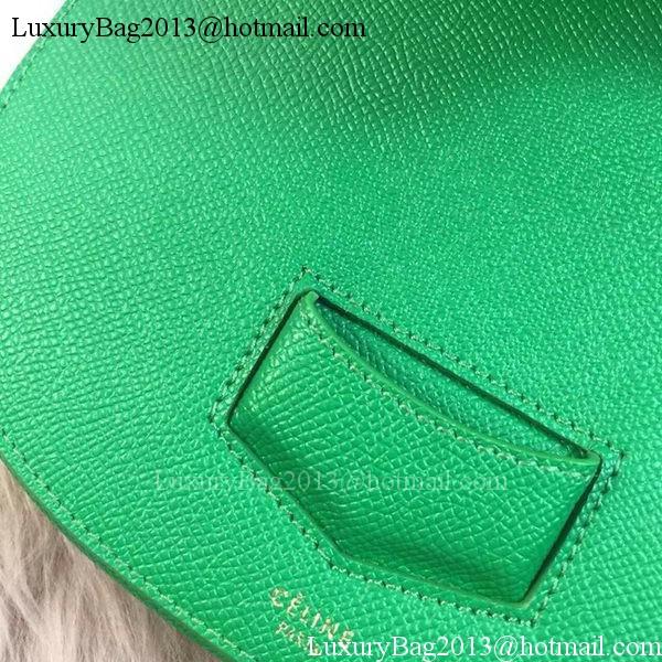 Celine Trotteur Bag Litchi Leather CTA4298 Green