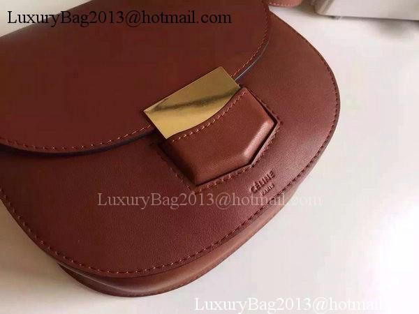 Celine Trotteur Bag Smooth Leather CTA4298 Brown