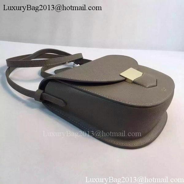 Celine Trotteur Bag Calfskin Leather CTA8002 Khaki