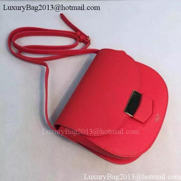 Celine Trotteur Bag Calfskin Leather CTA8002 Red