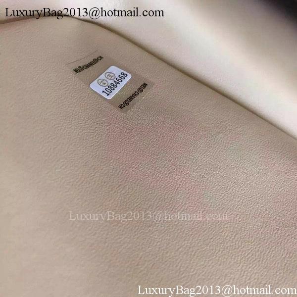 Chanel 2.55 Series Flap Bag Original Fabric A1025 Apricot