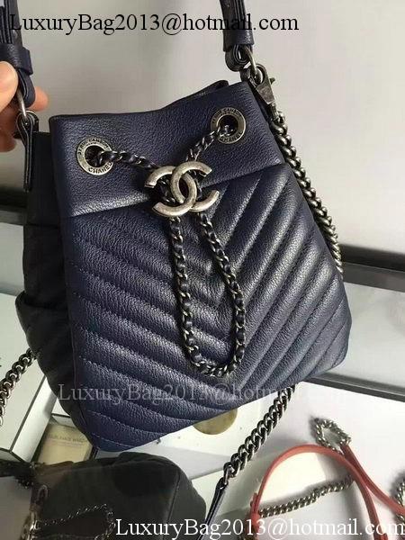 Chanel Hobo Bag Sheepskin Leather A33571 Black