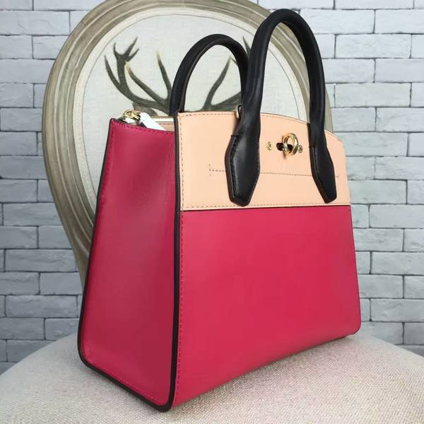 Louis Vuitton City Steamer Bag 51026 Light Pink&Pink&Black