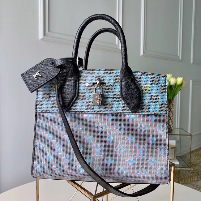 Louis Vuitton CITY STEAMER MINI M55470 Blue