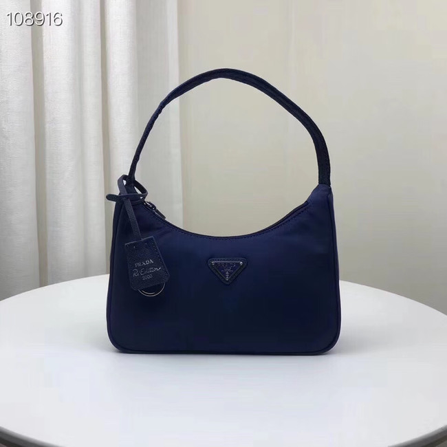 Prada Nylon tote bag 1NE515 blue