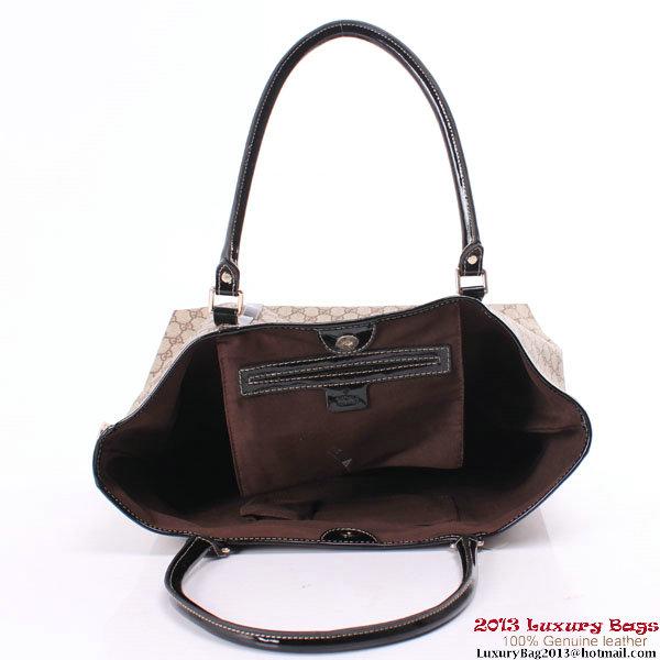 Gucci Joy Tote Bag GG Plus 197953 Black